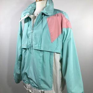 Obermeyer Jackets & Coats - Vtg 90s Obermeyer Geometric Colorful Ski Jacket